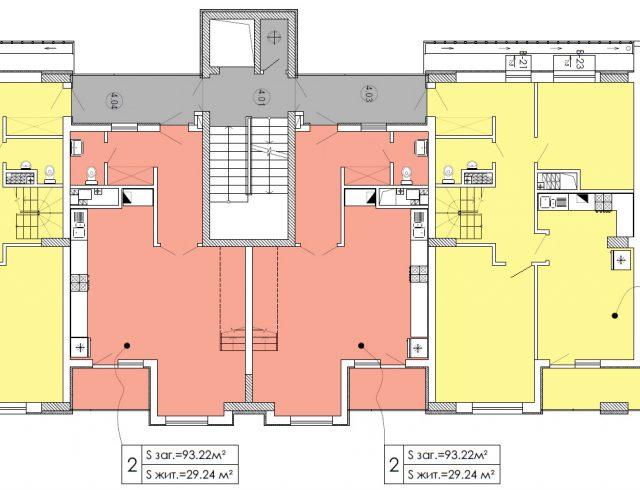 План мансардного поверху 1